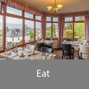 Eat well at our bed and breakfast in fort William