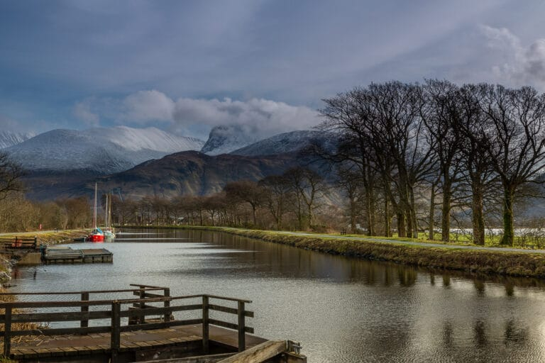 Ben Nevis from Canal