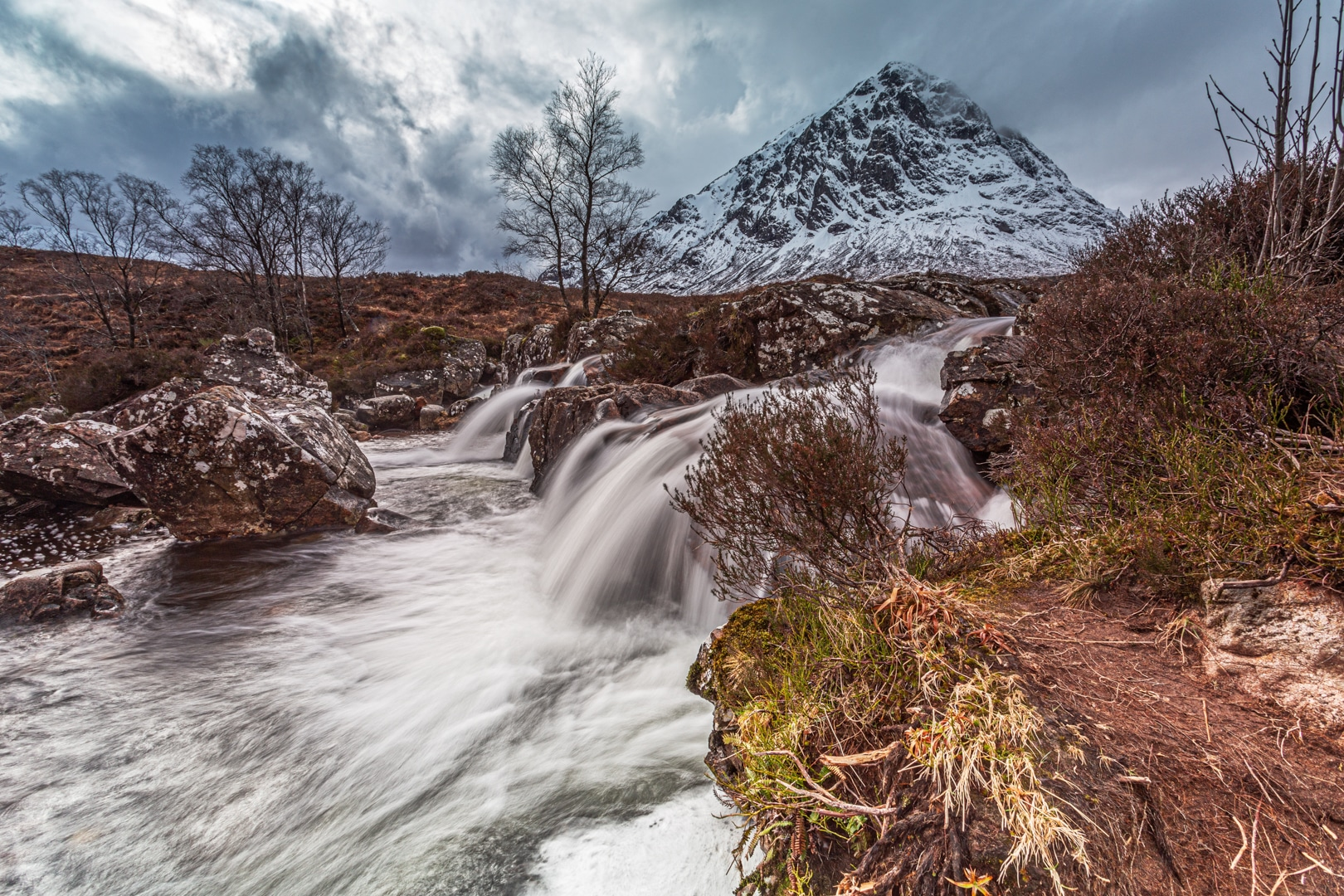 Buachaille Etive Mor winter 2