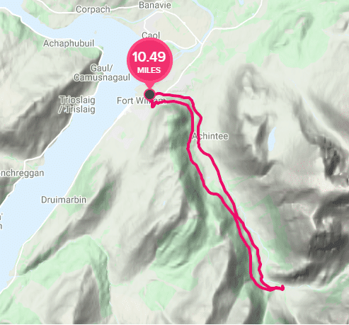 Glen Nevis cycle route