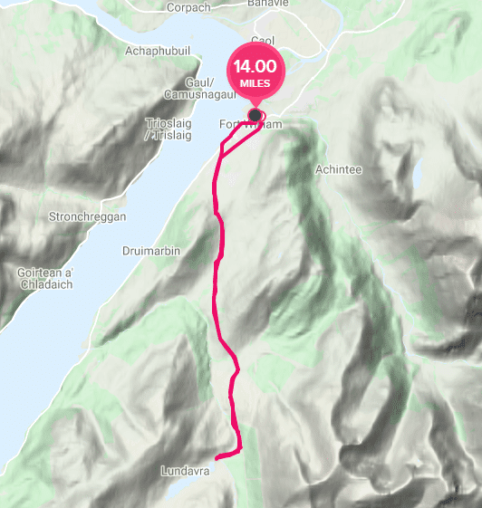 Lundavra cycle route