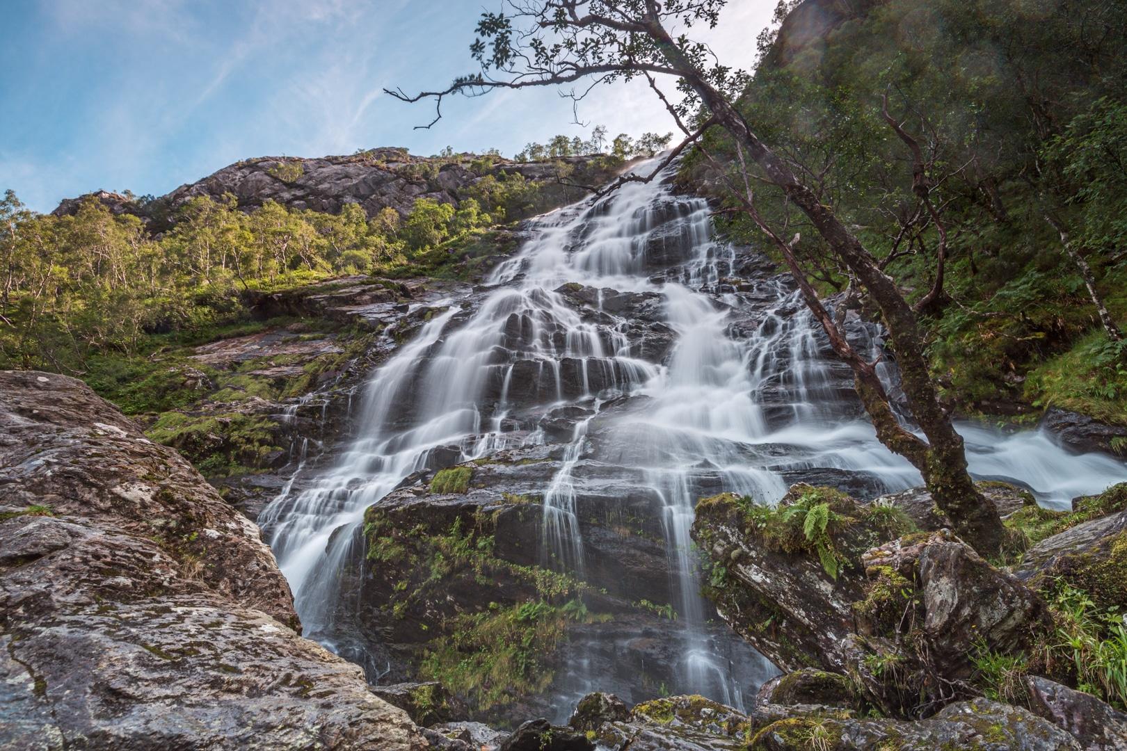 Steall Falls closeup