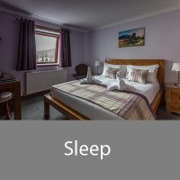 Sleep at our fort William bed and breakfast